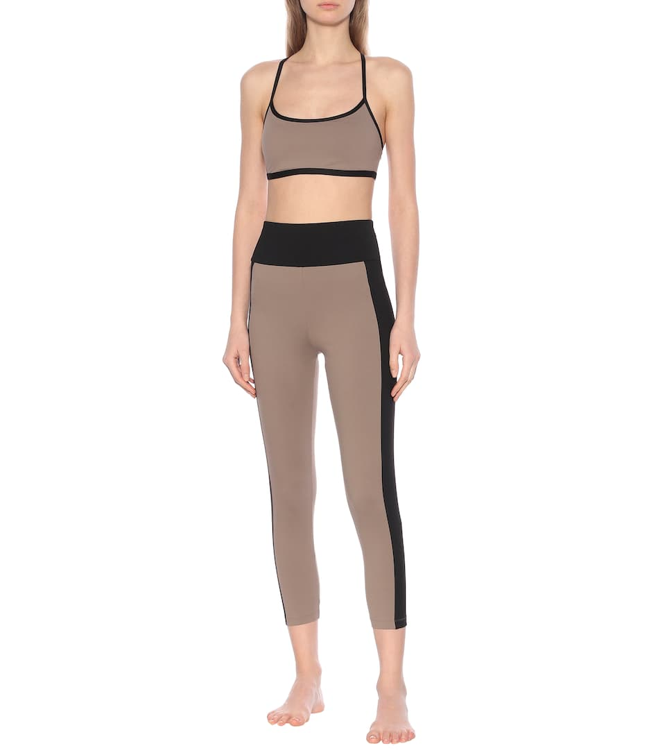 Ernest Leoty - Therese cropped high-rise leggings