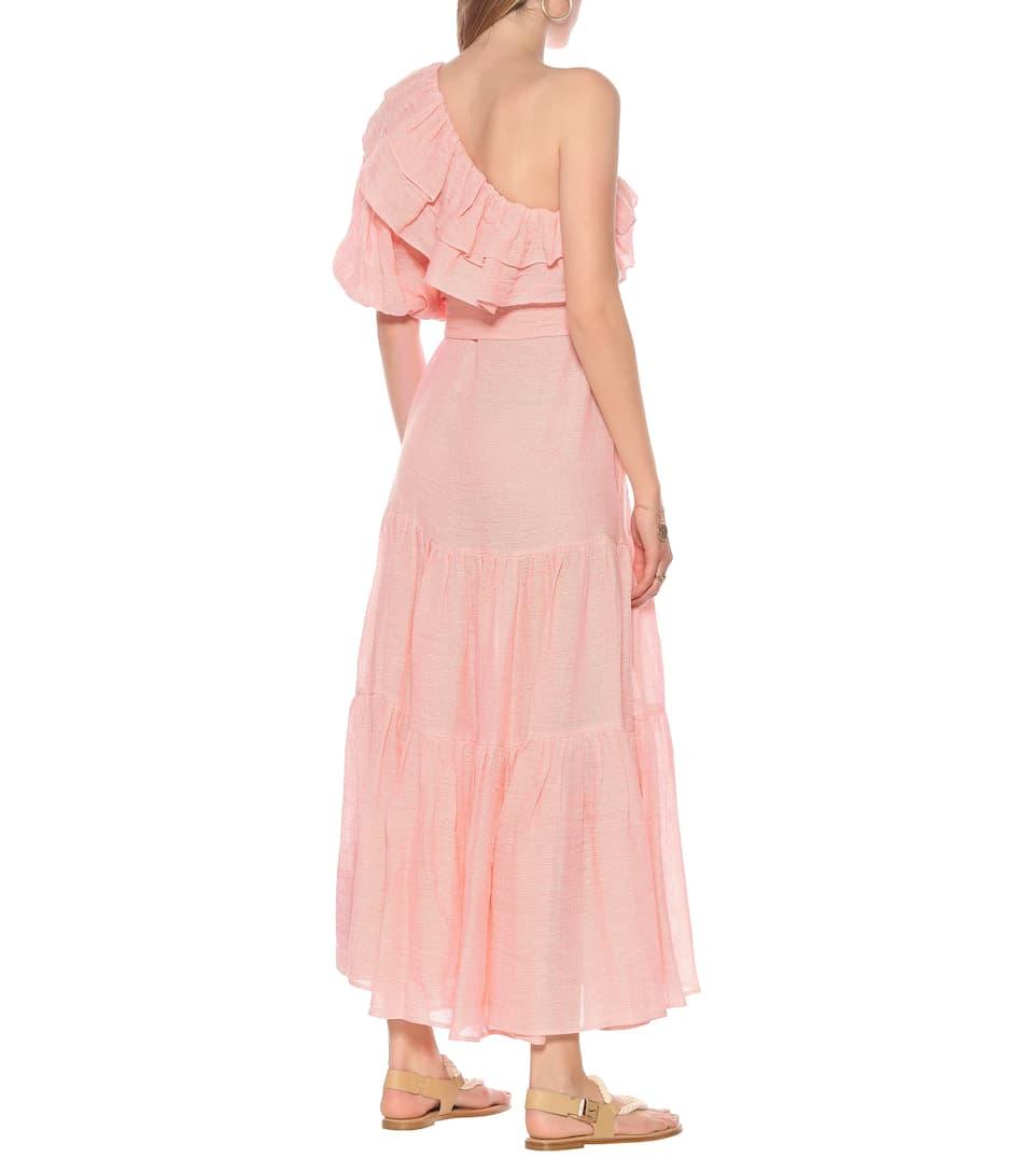 Lisa Marie Fernandez - Arden linen-blend gauze maxi dress