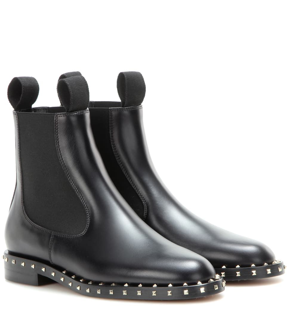 Valentino Embellished Chelsea boots