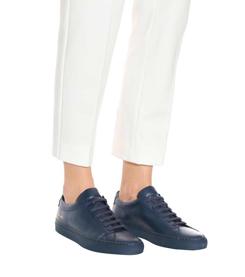 Billiges Countdown-Paket Ausgezeichnet Common Projects Sneakers Original Archilles aus Leder Billig Zuverlässig boAwxJf