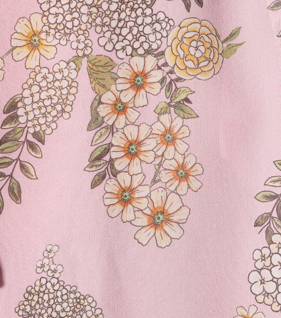 Giambattista Valli Printed Blouse Of Silk Mousseline