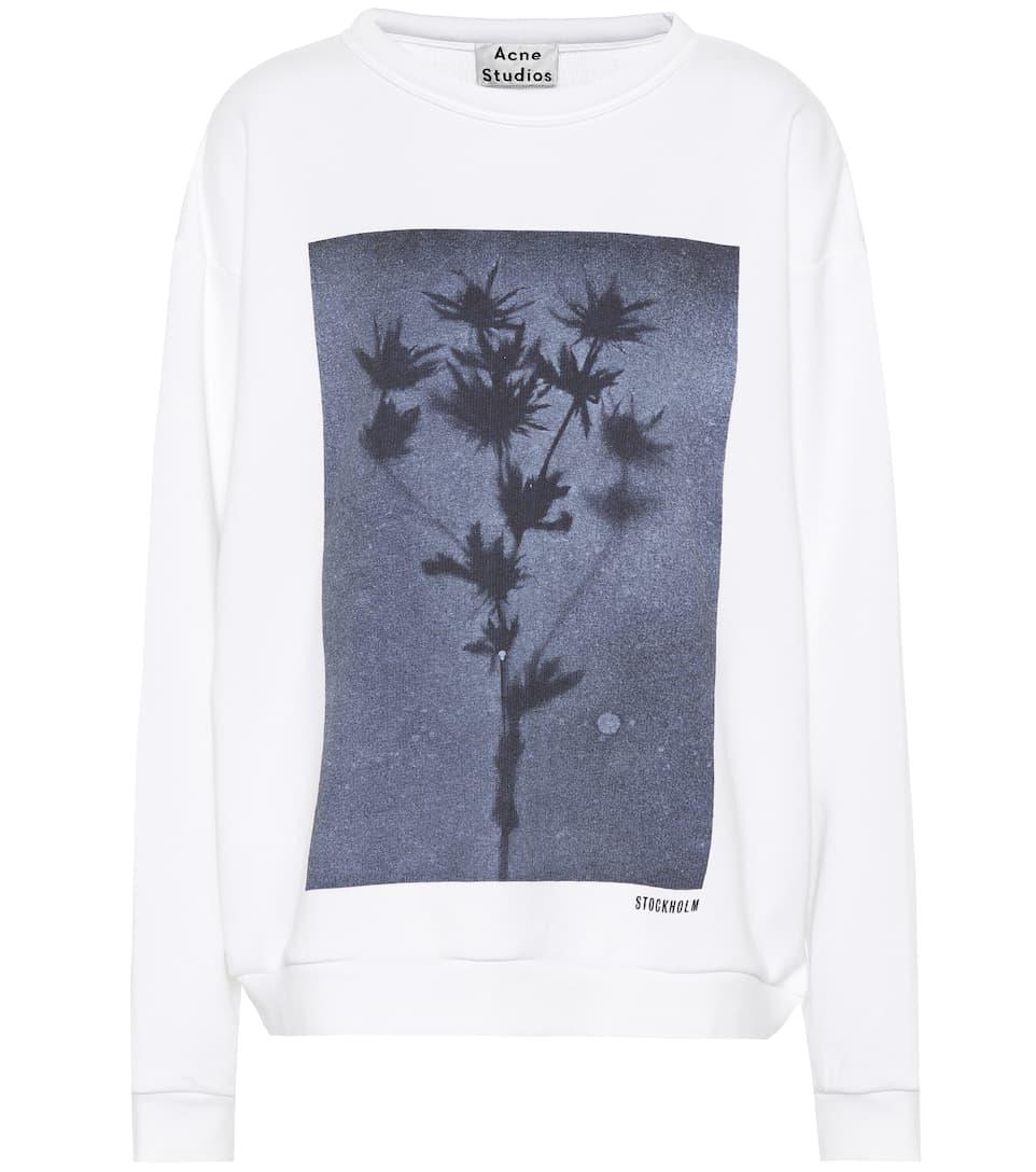 Acne Studios Bedrucktes Sweatshirt aus Baumwolle