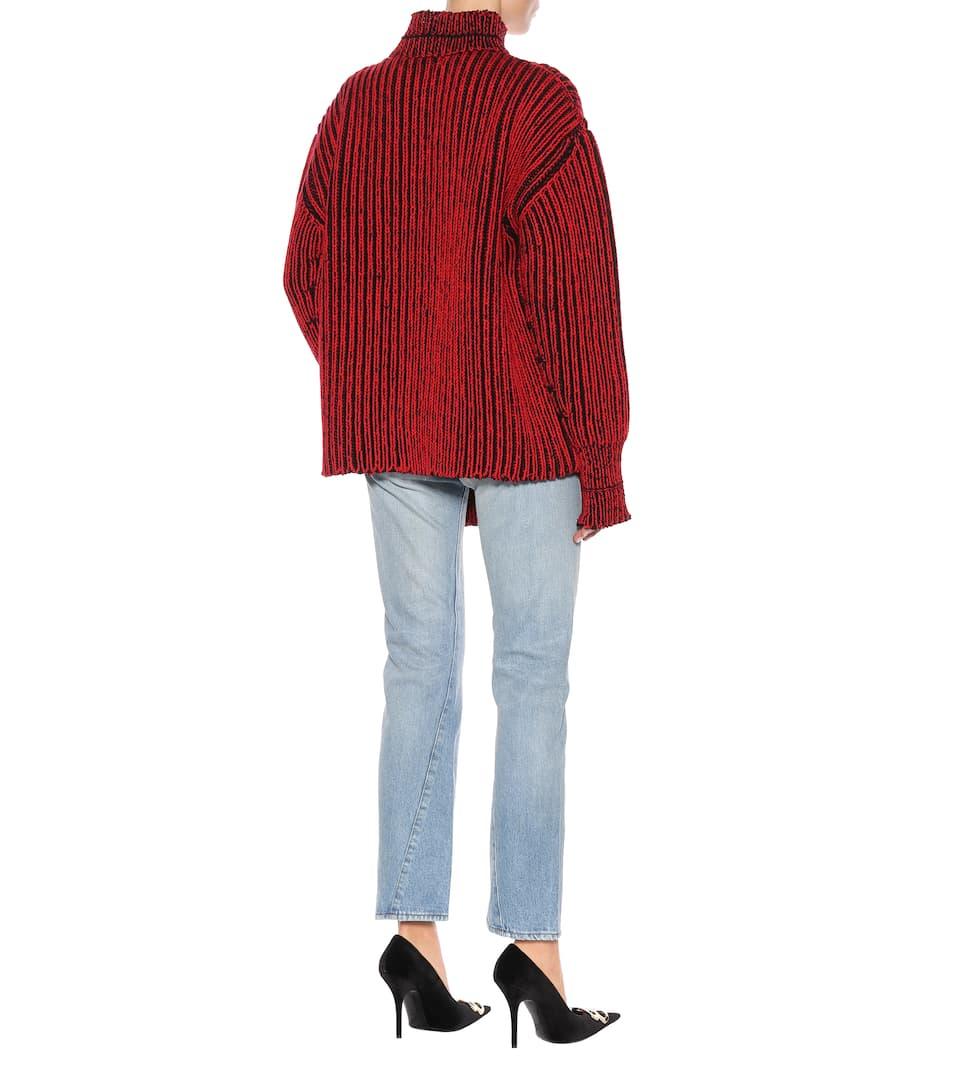 de lana Rouge Noir Balenciaga Suéter Xq4fw