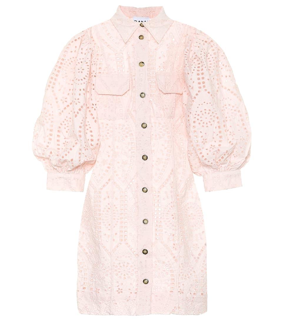 Coton com Robe En Artnbsp;p00377419 GanniMytheresa N° Brodée Omv80ywnN