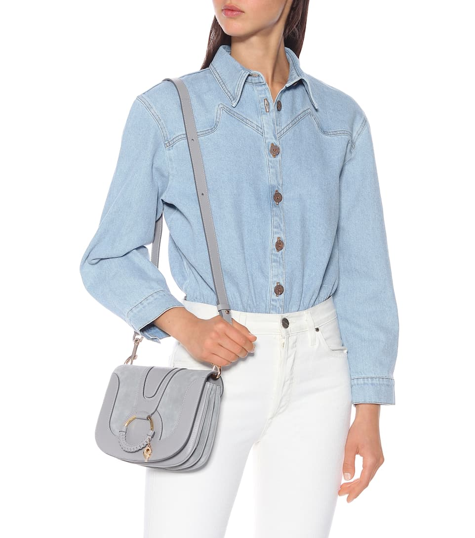 multiple colors latest style outlet sale Hana Small leather shoulder bag