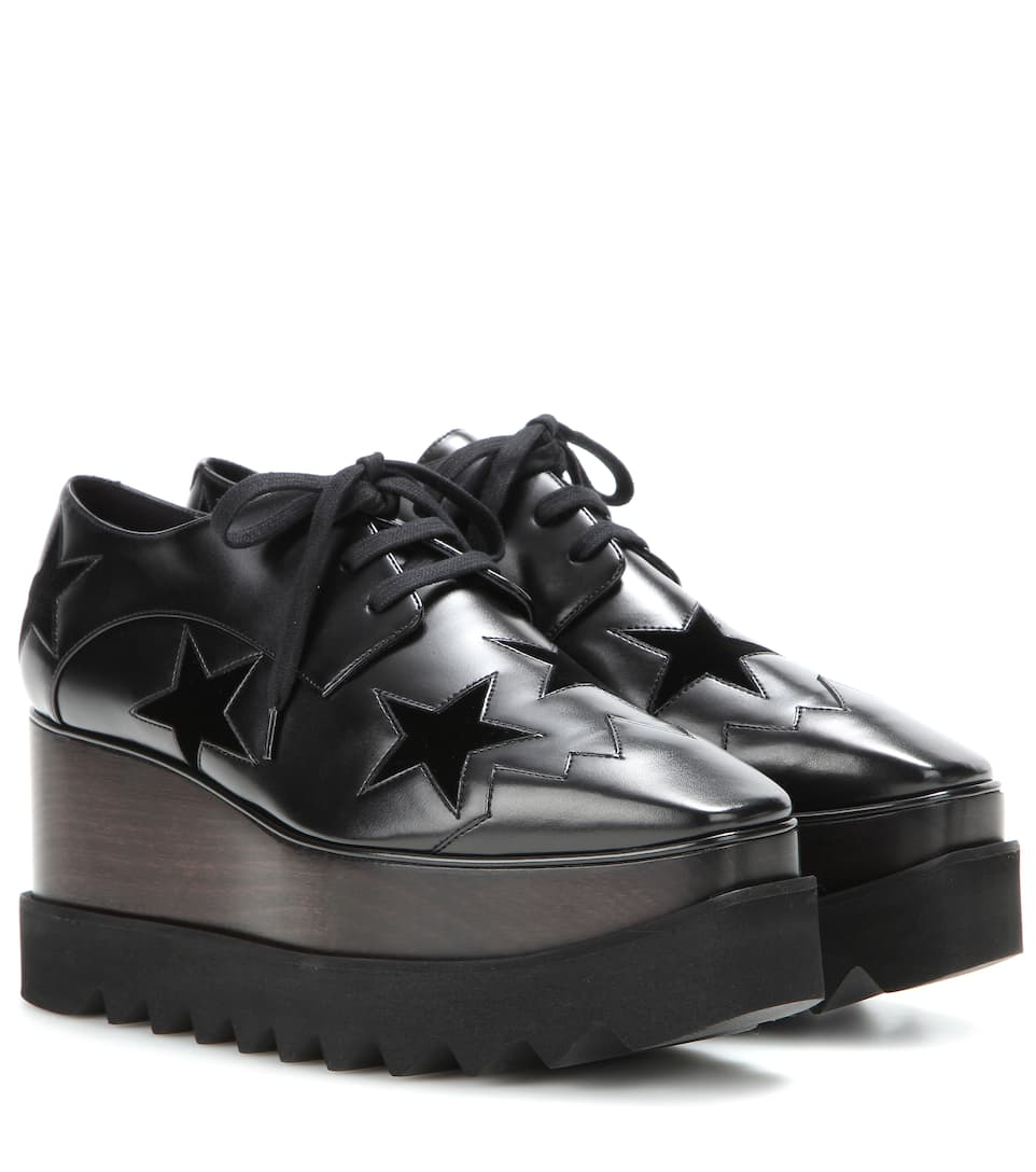 Elyse Derby shoes - Black Stella McCartney wuEEMSBvNs