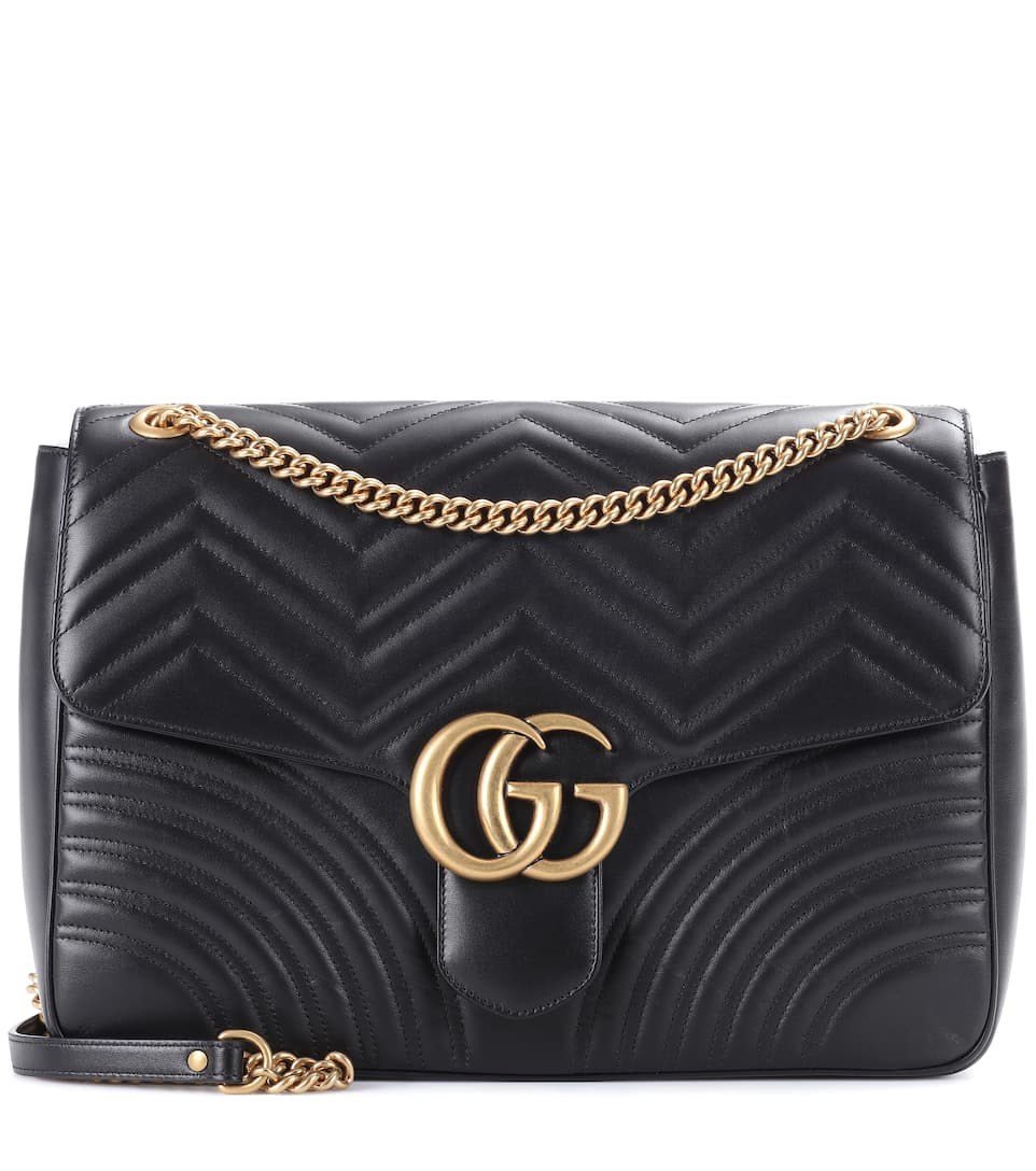 aebf274fffb8 Gg Marmont Matelassé Leather Shoulder Bag - Gucci | mytheresa.com