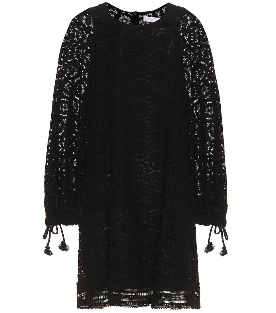 Robe En Dentelle De Coton - See By Chloé