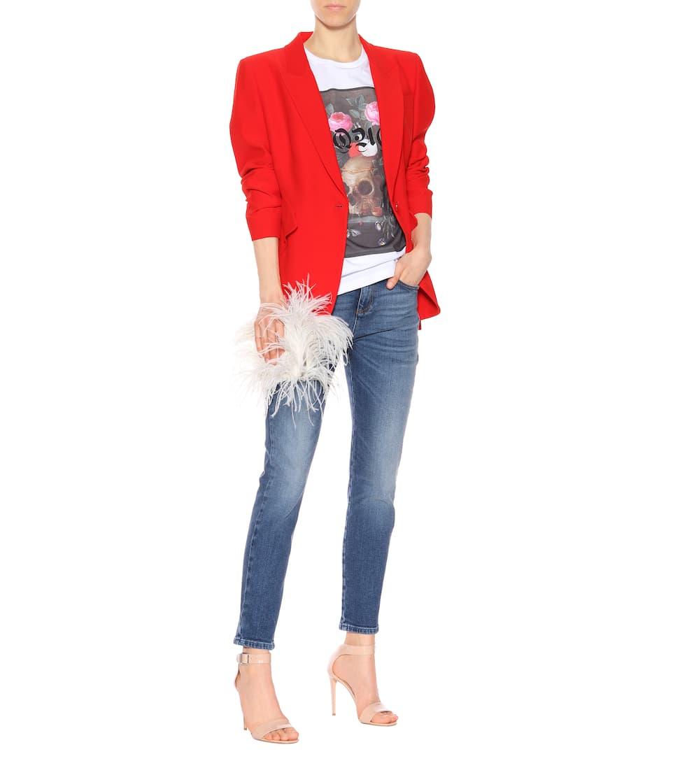 Alexander McQueen Skinny Jeans aus Baumwolle