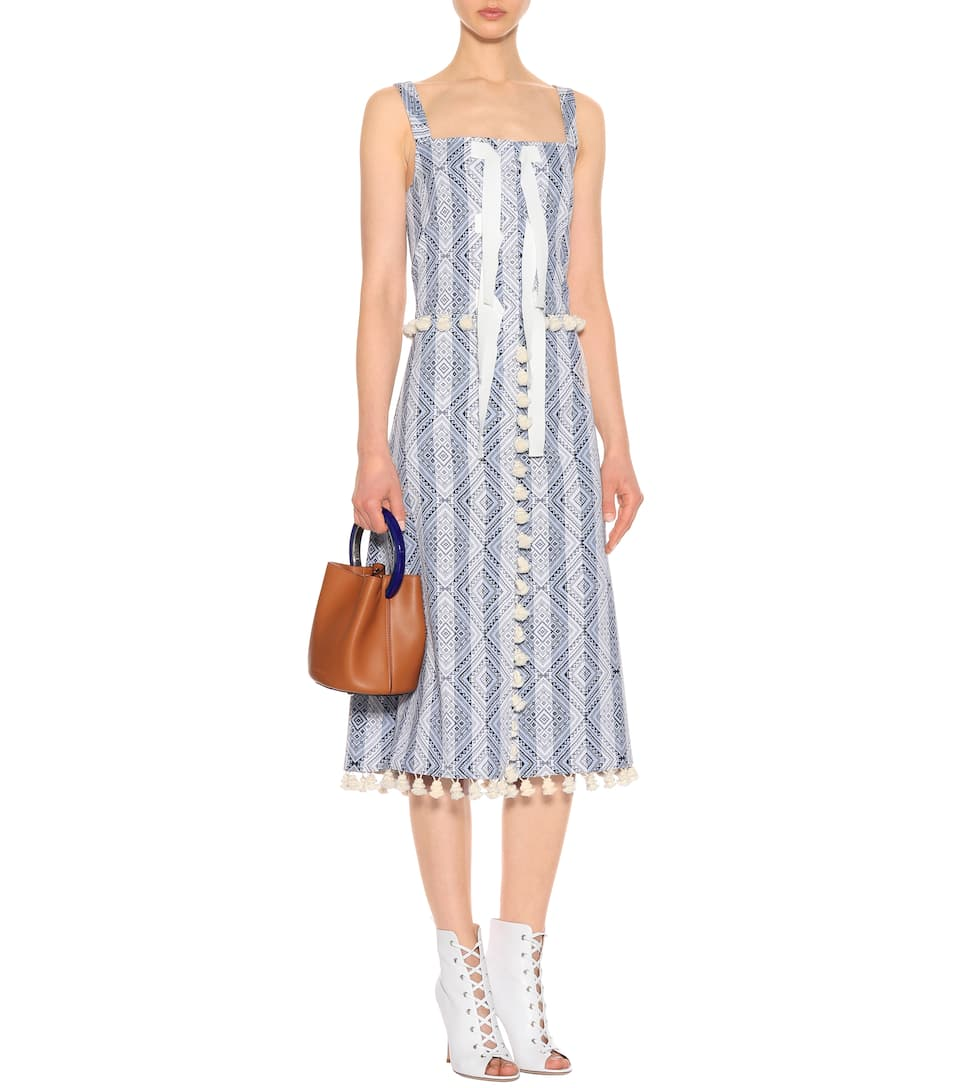 Altuzarra Bedrucktes Kleid mit Baumwolle