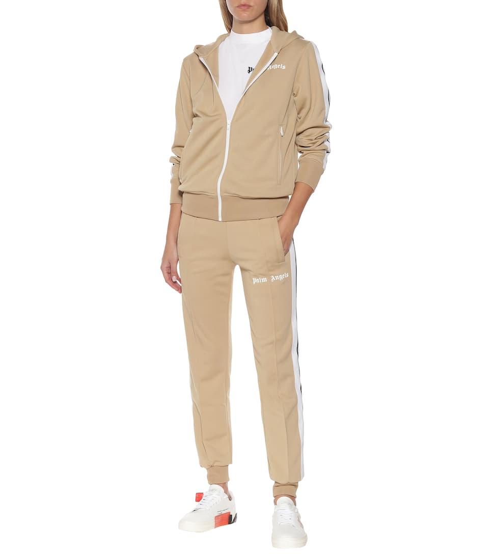 Palm Angels - Logo hoodie track jacket