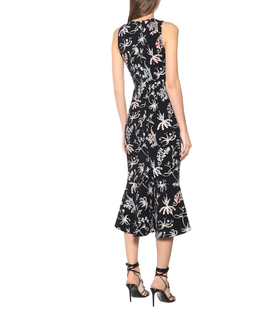 Peter Pilotto - Floral cady dress