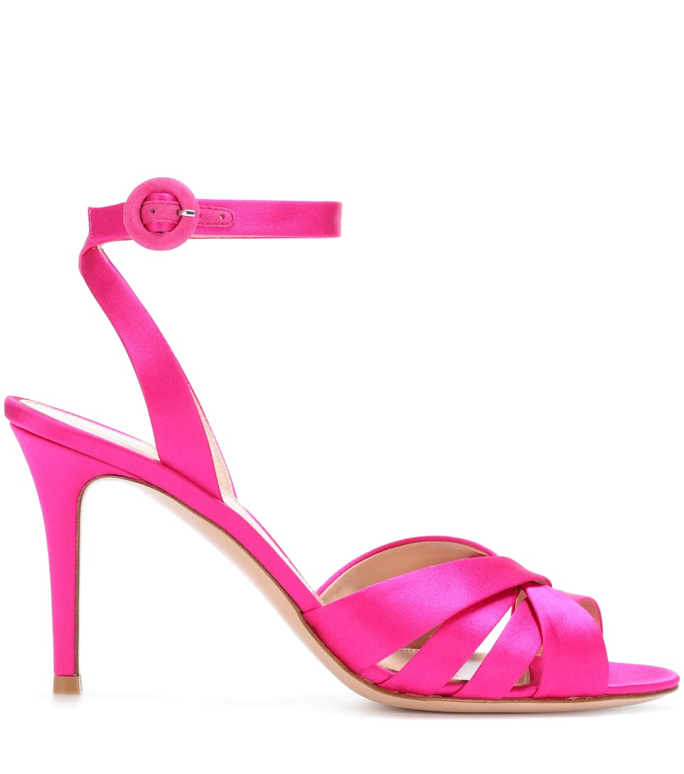 Gianvito Rossi Exclusively At Mytheresa.com - Sandals Made Of Satin