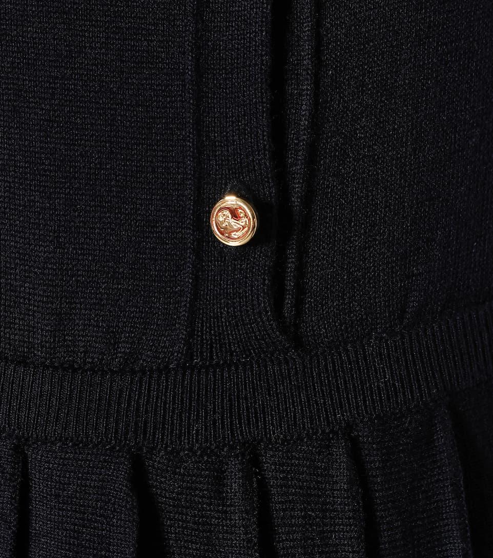 Boutique Pas Cher À Bas Prix Thom Browne - Robe en laine Prix Pas Cher: Achat Forfait De Compte À Rebours De Vente Pas Cher c6Gjy