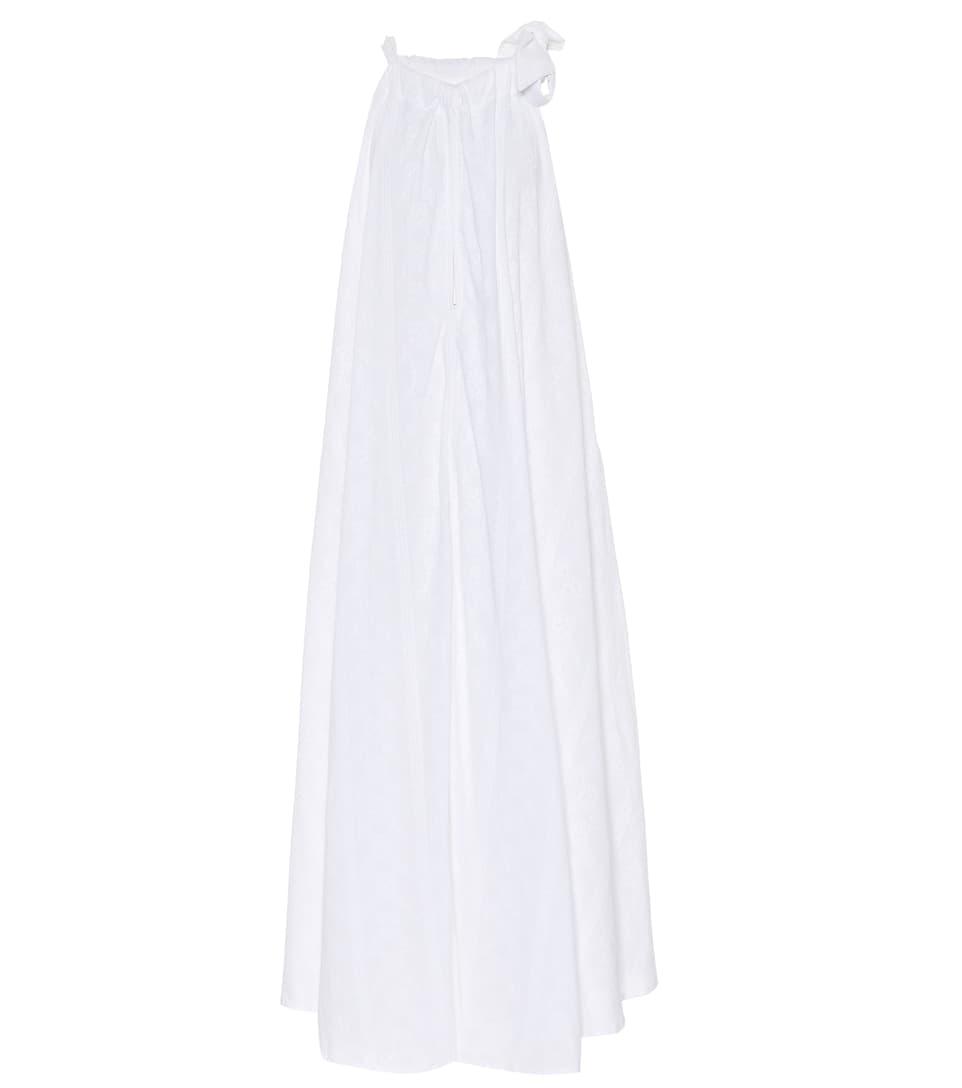 KALITA CAMILLE EMBROIDERED MAXI DRESS