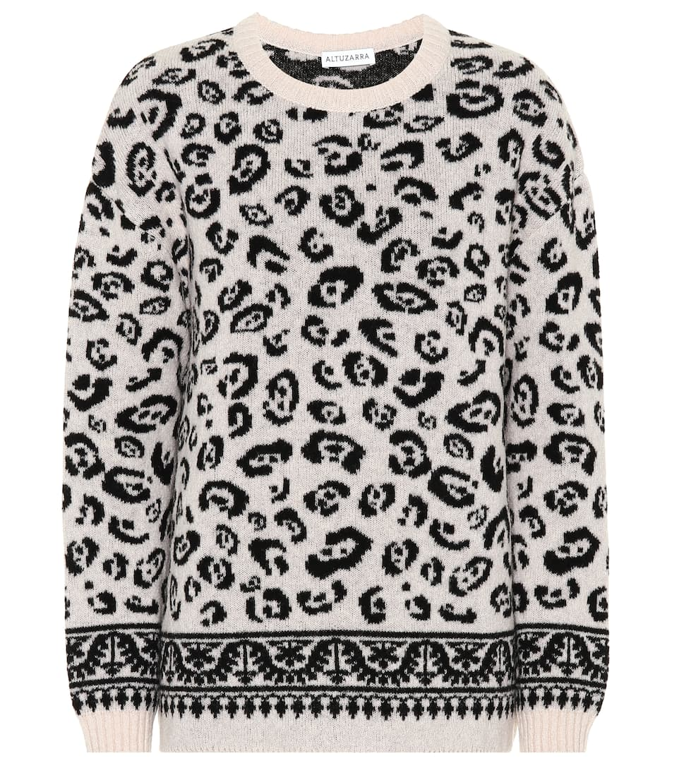 lana suéter mezcla en Altuzarra Casablanca Fawn de qFw0ZfA