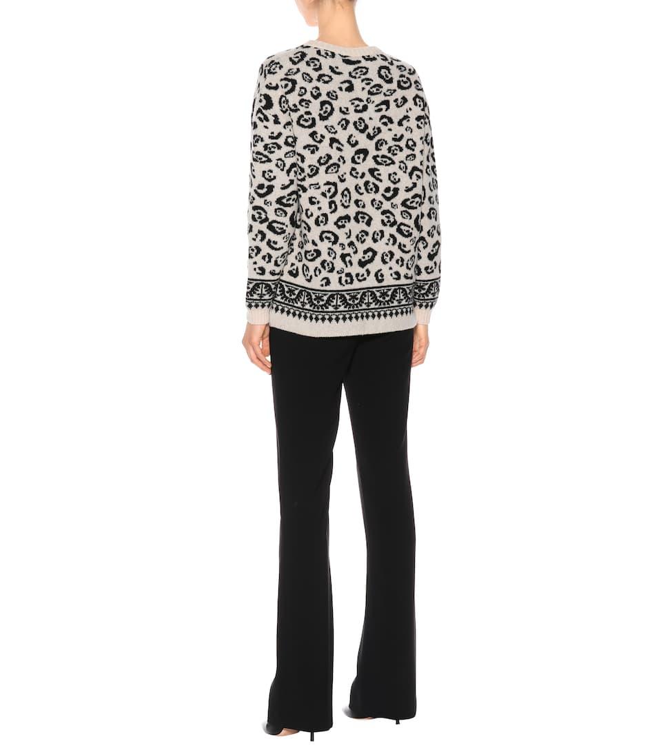 Casablanca wool-blend sweater