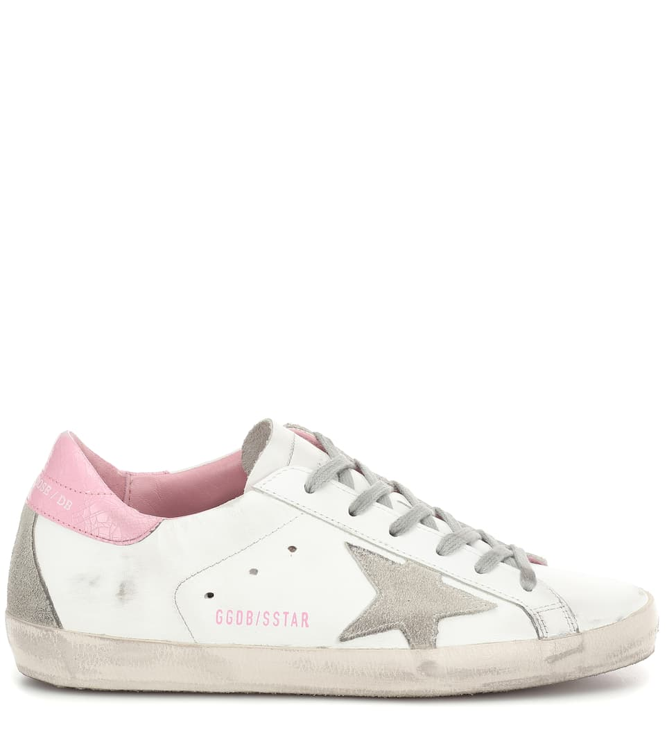 Golden In Sneakers Pelle Goose Superstar uPXOZki