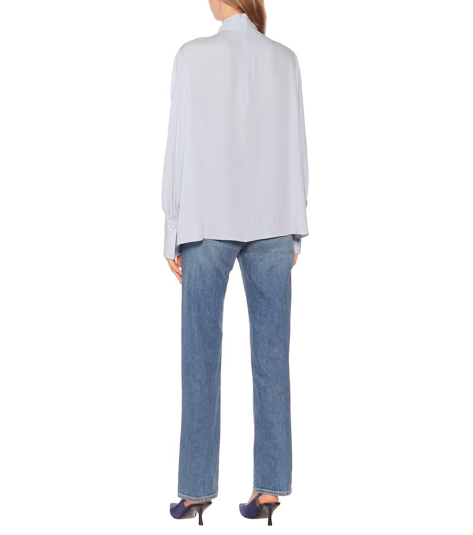 The Row - Exclusive to Mytheresa – Gila silk blouse