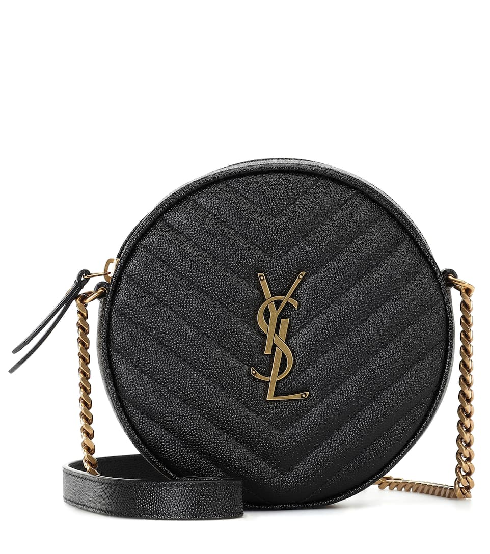 Monogram Leather Crossbody Bag by Saint Laurent