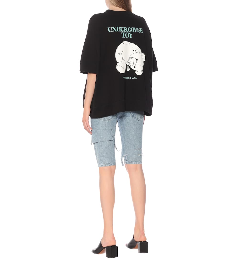 Printed Cotton Jersey T-shirt | Undercover - Big Discount