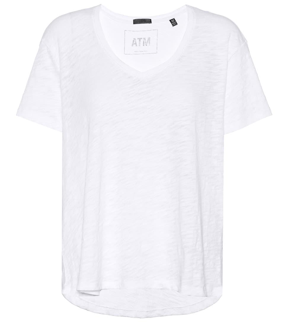Auslass Hohe Qualität ATM Anthony Thomas Melillo T-Shirt aus Baumwolle Discount Versandkosten Frei FXDggVU1L