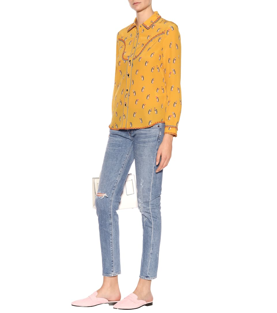 Citizens of Humanity Low-Rise Skinny Jeans Racer