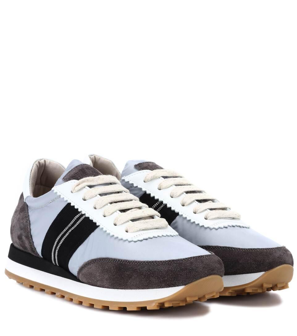 Spielraum Empfehlen Discount-Marke Neue Unisex Brunello Cucinelli Sneakers mit Veloursleder Steckdose Billigsten GzpKzPicAC