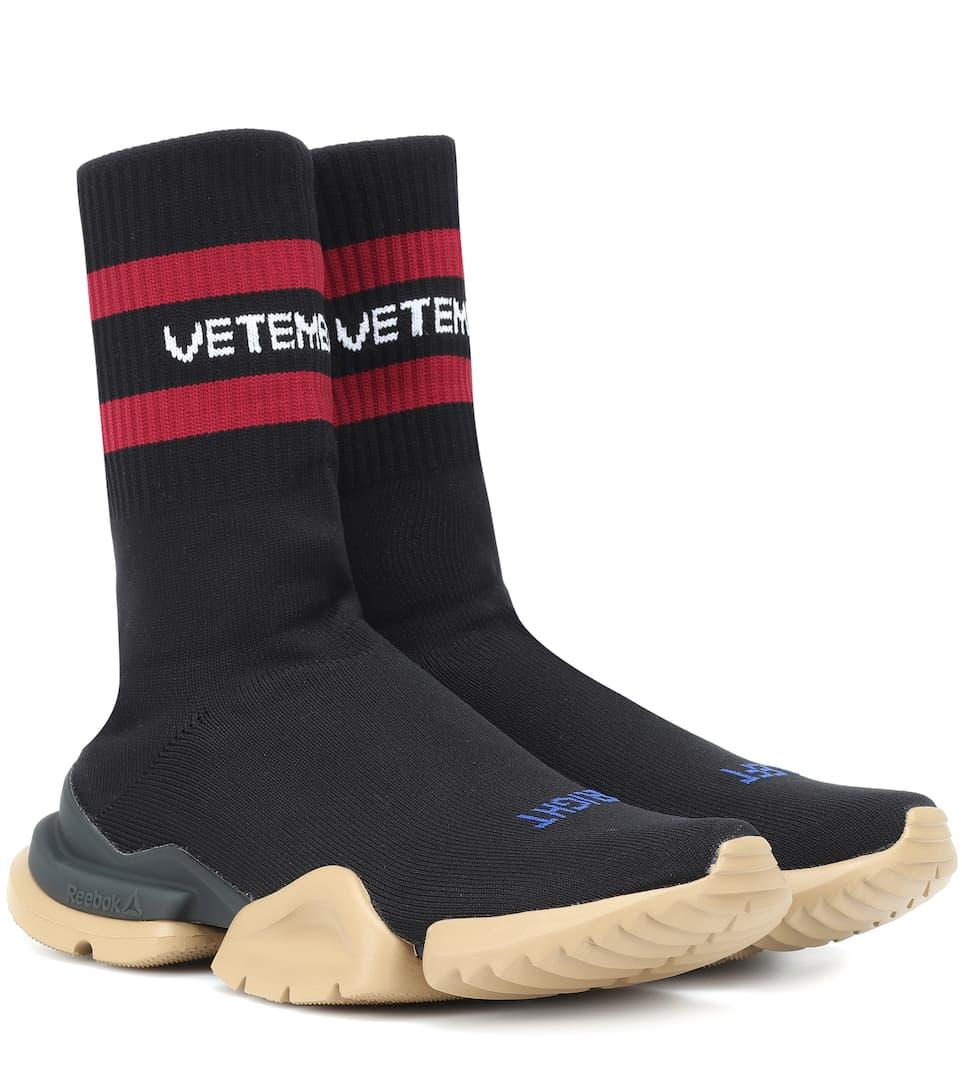 X Reebok High Top Sneakers