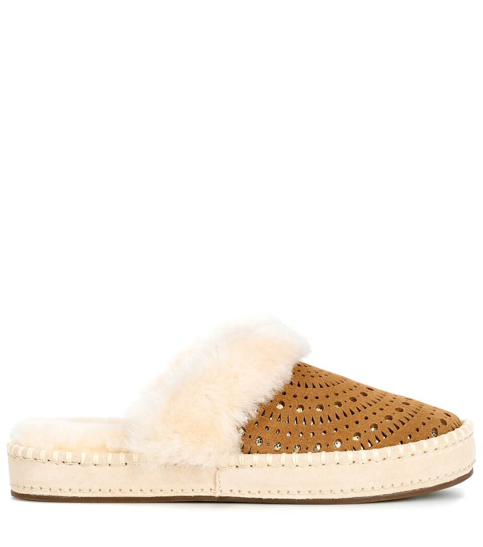 Ugg Australia Slippers Aira Sunshine From Suede