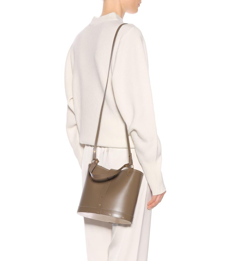 Neu Werden The Row Bucket-Bag aus Leder Shop Für Verkauf Billig 2018 Neu Neue Ankunft Günstig Online Verkauf Neueste n8Za7P0QV