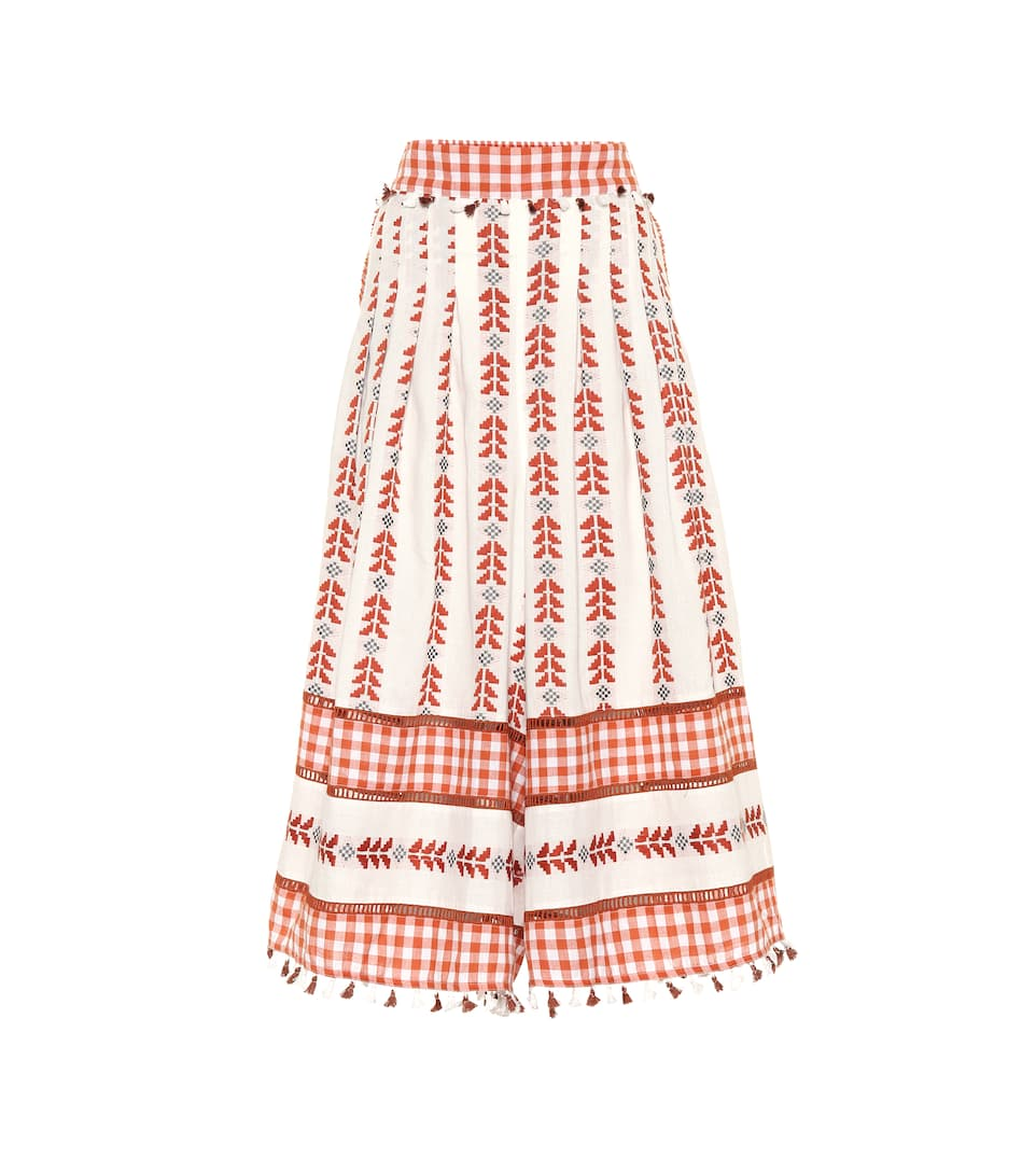 Dodo Bar Or EMBROIDERED COTTON PANTS