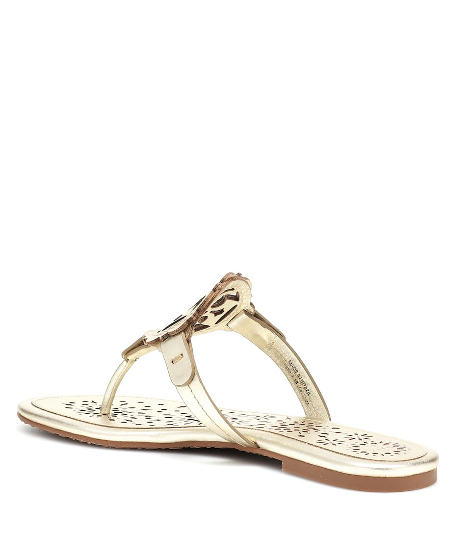 1f47aef686dca Miller leather sandals. NEW ARRIVAL. Tory Burch