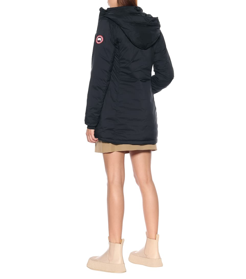 Women's Canada Goose Camp Down Hooded Water Resistant Jacket