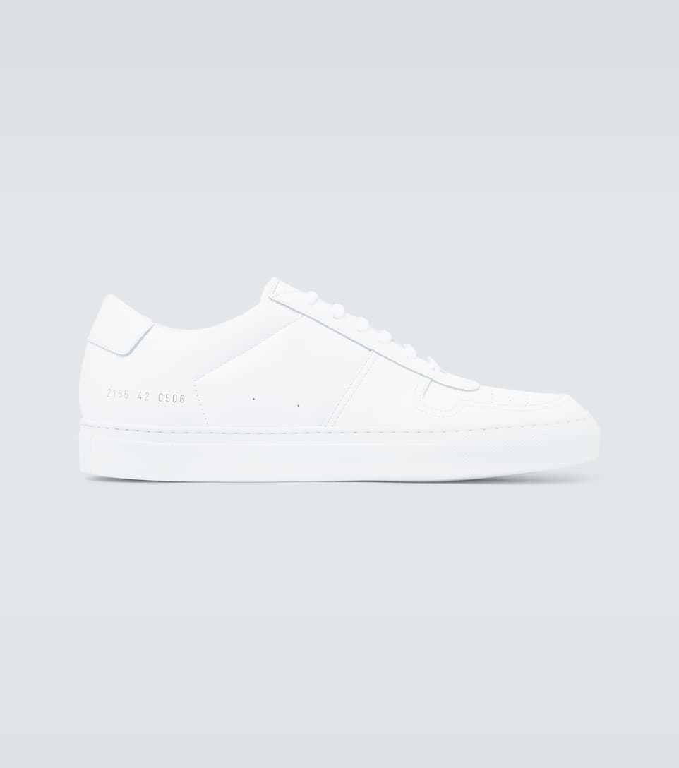 Bball Low Leather Sneakers - Common