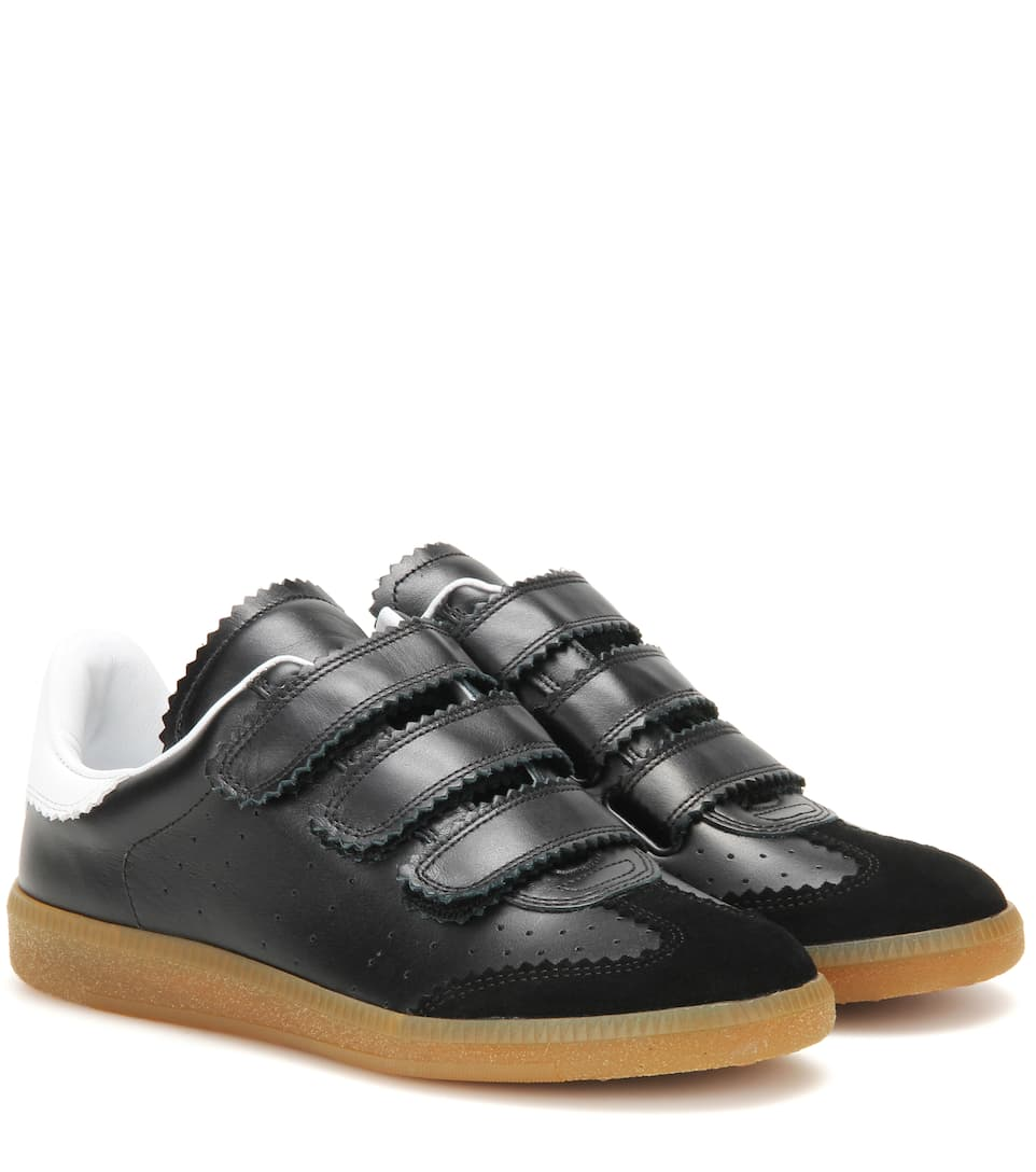 Beth leather and suede sneakers Isabel Marant AaIPRK