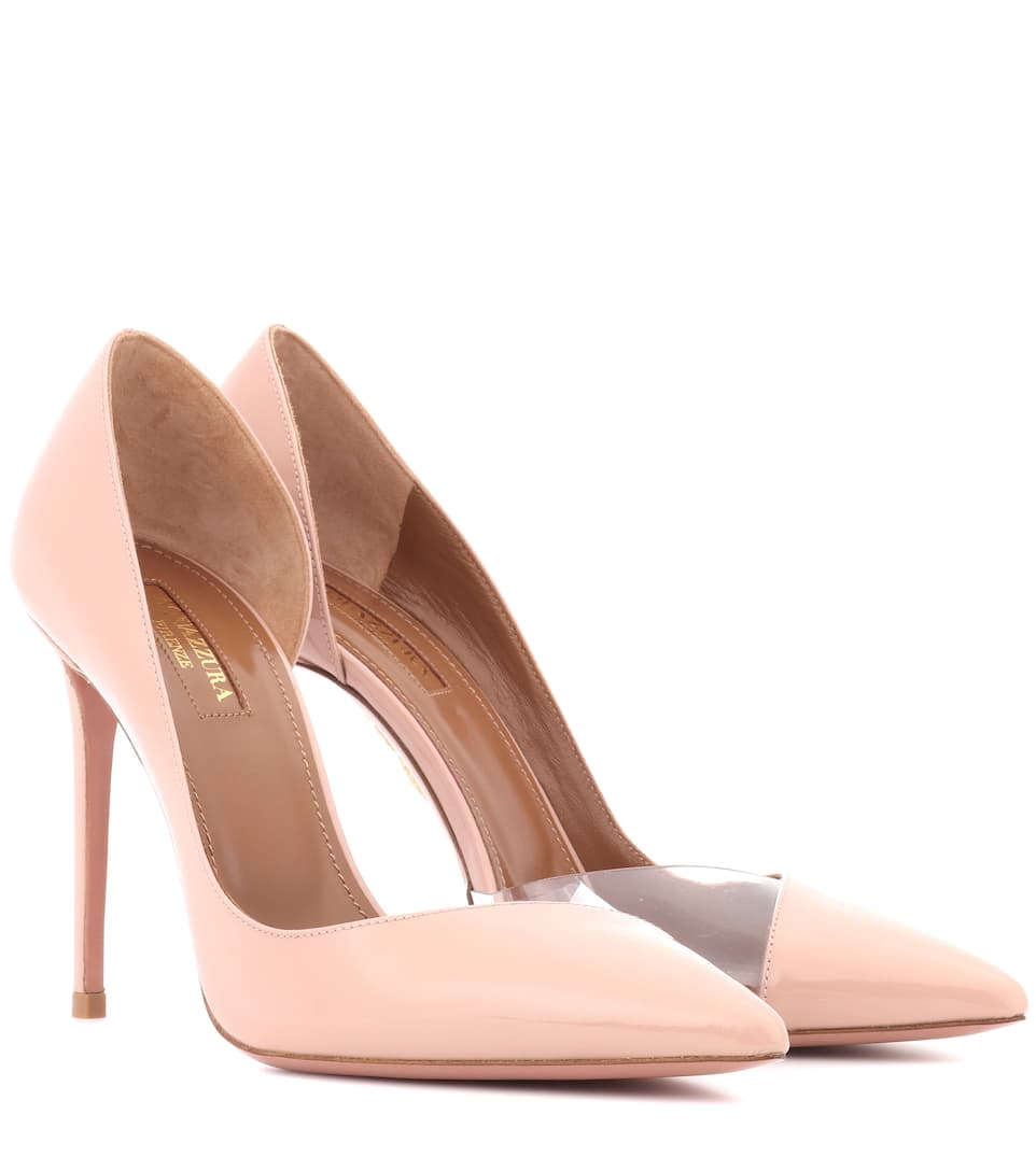 Pumps Eclipse 105 Aus Lackleder by Aquazzura