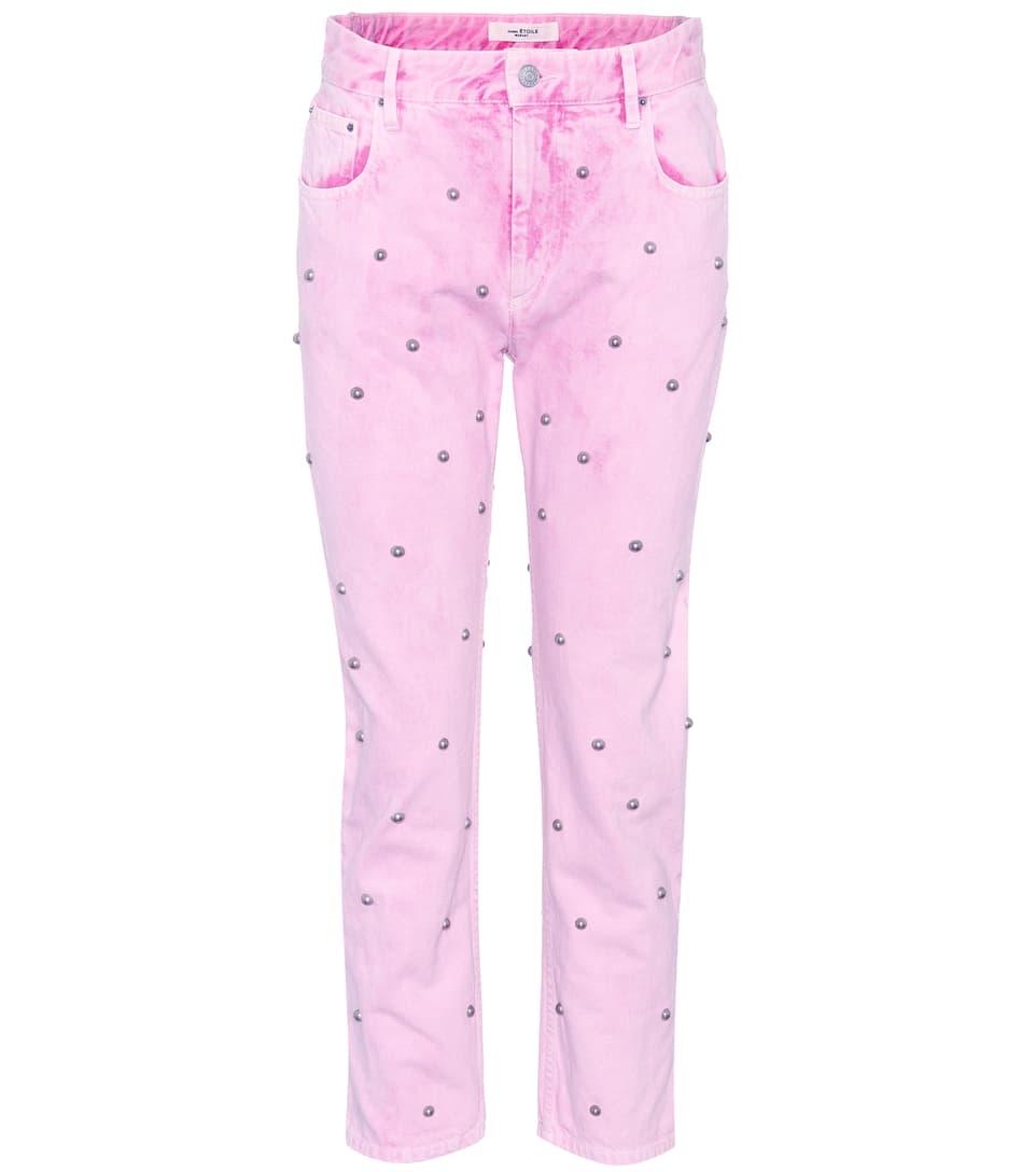103599e4695 Fliffa Studded High-Waisted Jeans - Isabel Marant
