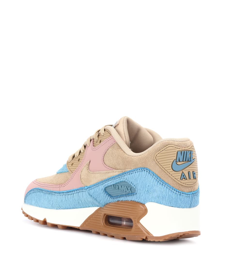 Nike Sneakers Nike Air Max 90 Of Leather And Fur