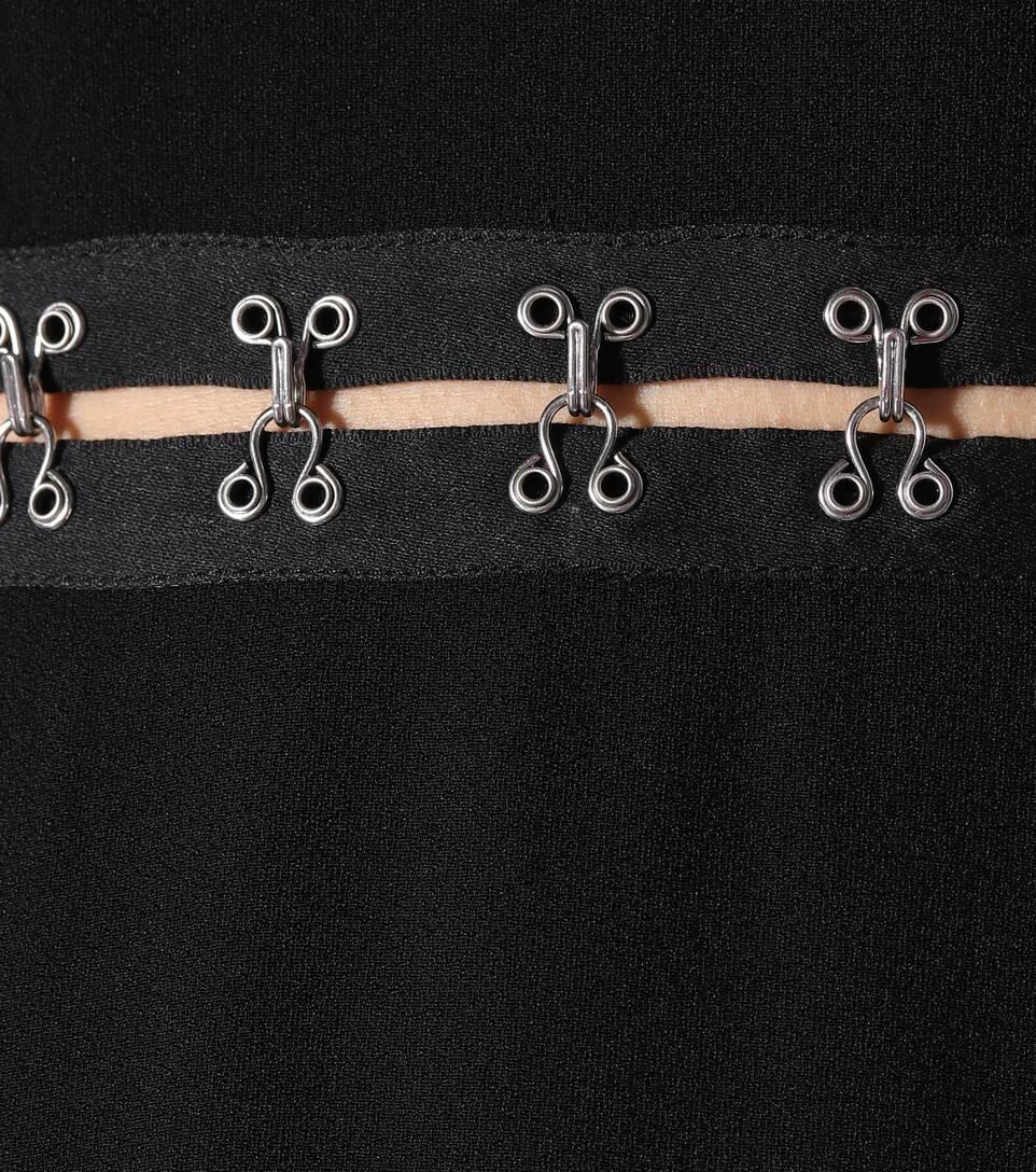 Proenza Schouler Verziertes Minikleid aus Crêpe