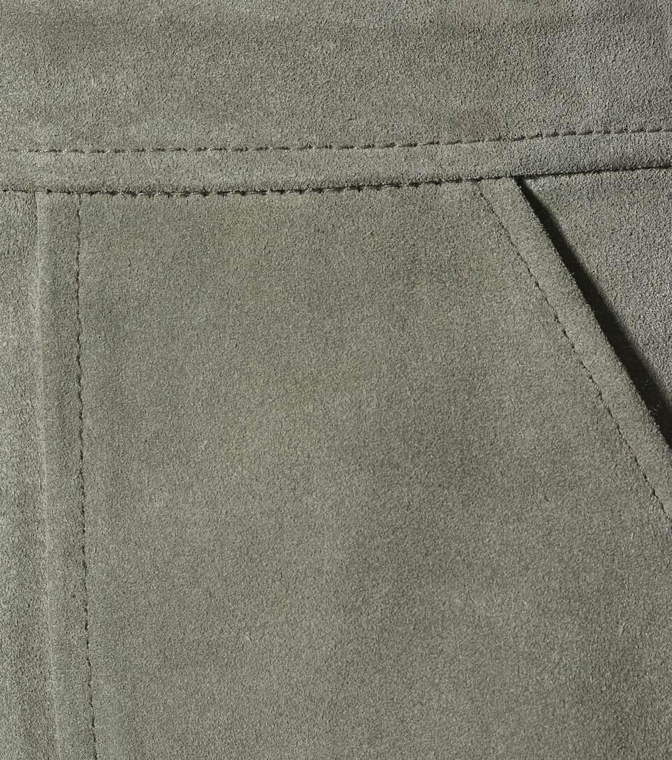 M.i.h Jeans Minirock aus Veloursleder