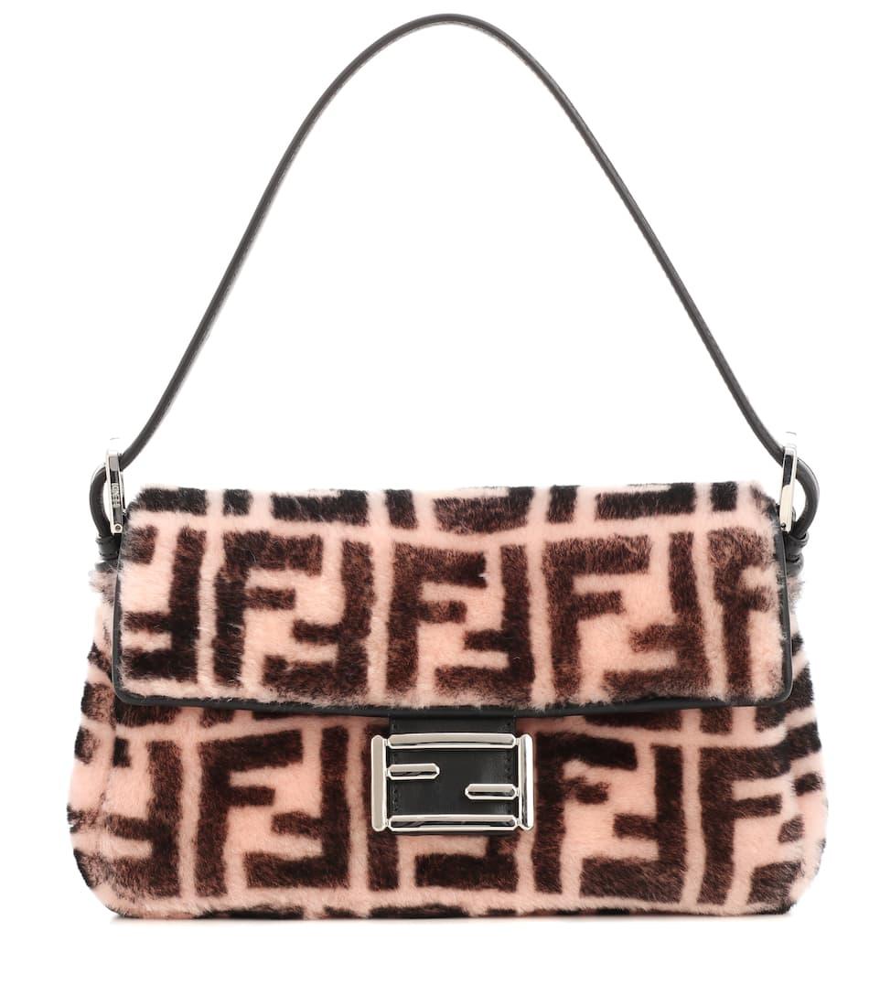 Baguette Sheepskin Shoulder Bag by Fendi