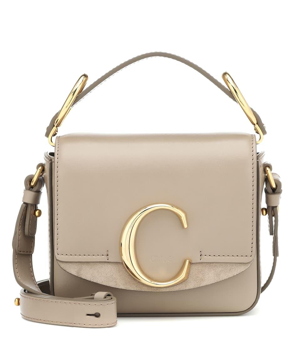 15cbbd9eb3 Chloé C Mini Leather Shoulder Bag - Chloé