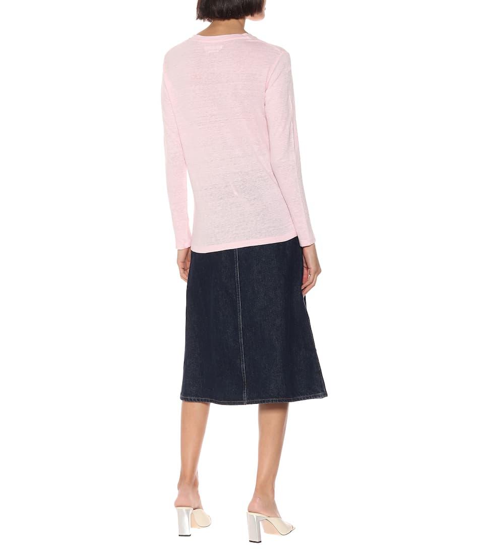 T Isabel Artnbsp;p00399226 shirt En Lin MarantÉtoileN° Kaaron PiuZOXk
