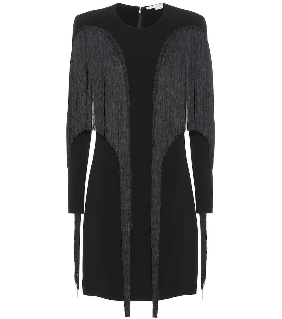 Artnbsp;p00400924 Robe Franges Crêpe À En Stella MccartneyN° xeorWECBQd