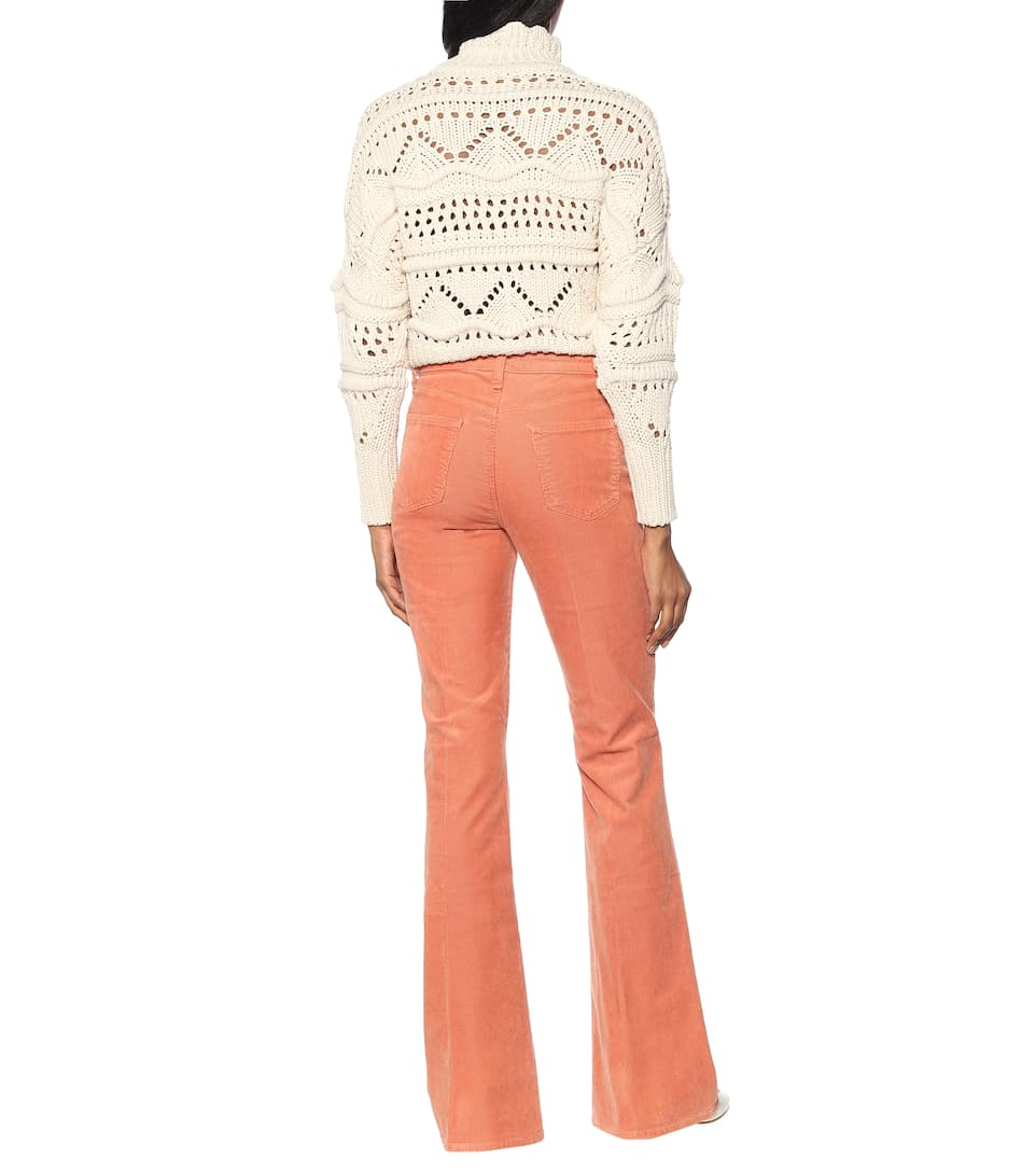 Valentina High-Rise Corduroy Pants - J Brand