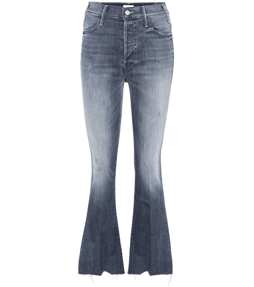 BUTTON FLY HUSTLER ANKLE JEANS