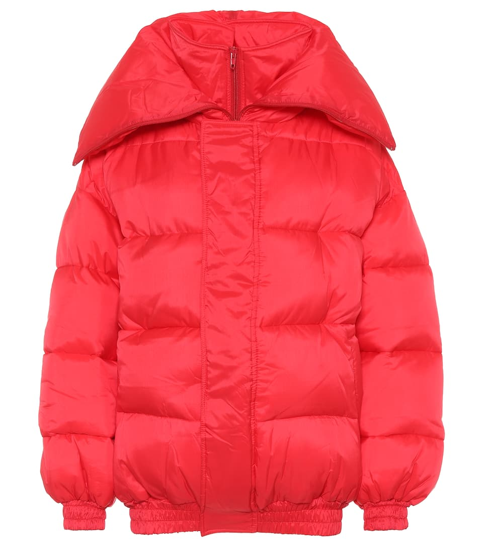 Websites For Sale Cheap Sale Pay With Paypal Vetements Puffer jacket Mat Rouge HE28V6