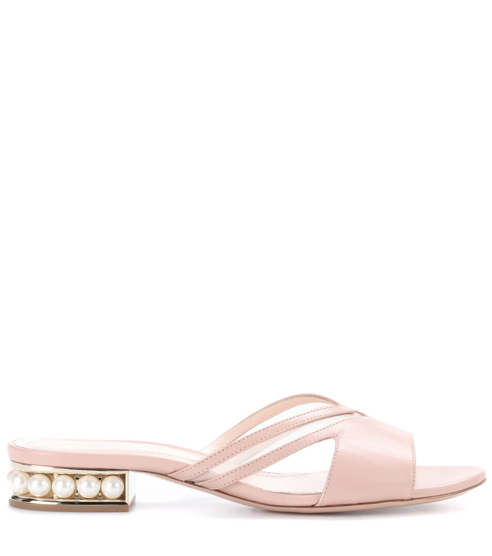 Casati 18 leather sandals Nicholas Kirkwood sdHJIU6U89