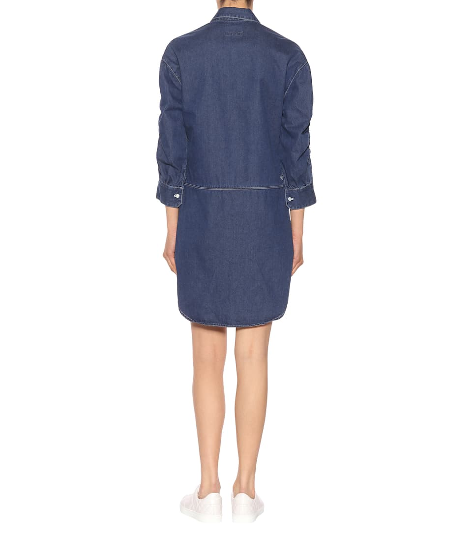 Burberry Burberry Indigo Denim Vestido Indigo Light Vestido Indigo Light Burberry Light Denim Burberry Vestido Denim Vestido a4AgWqnR